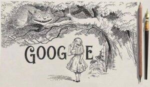 Google celebrates Sir John Tenniel's 200th birthday with 'Alice in Wonderland' inspired doodle