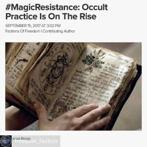 From witches, to voodoo, to spirit cooking to #Satanists teaming up with #Planne…
