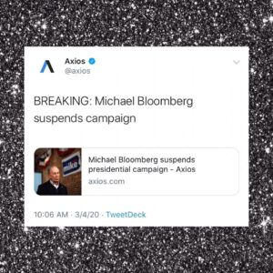 Michael Bloomberg suspends campaign