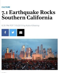 Over 1700 earthquakes (aftershocks) provoked since initial quake yesterday which…