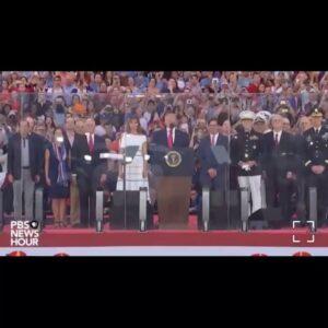 GOD BLESS AMERICA LAND THAT I LOVE… @realdonaldtrump @flotus #TrumpFamily #Fir…