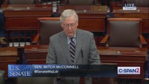 Sen. McConnell Calls Out Sen. Schumer For Threatening The Judicial Branch
