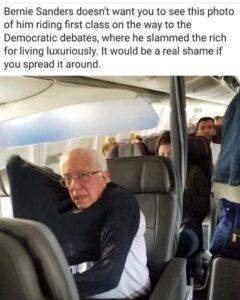 Bernie Panders EXPOSED….