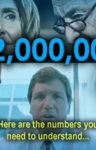 Read more about the article North of 22 Million, 11 million! If under-educted, low IQ voters vote blue. AMER…