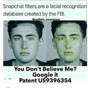 Read more about the article ALERT SNAPCHAT FILTERS: FACIAL RECOGNITION DATABASE CREATED BY THE F.B.I. PATEN…