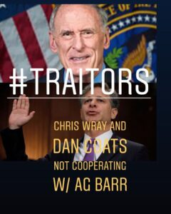 Read more about the article Director of National Intelligence Dan Coats and FBI director Chris Wray are NOT …