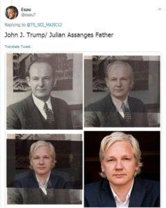 John J. Trump / Jillian Assang Father