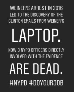Read more about the article Please Share! @NYPD #DOYOURJOB they are the KEY to our country learning the TRUT…