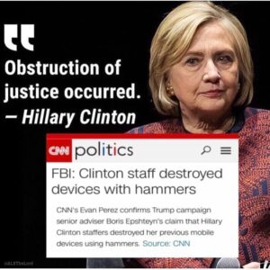 Read more about the article Crooked Hillary – what a mental case. Why is this woman still free??? #LOCKHERUP…