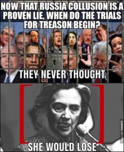 Read more about the article Hillary is so screwed  all the Democrats are! Years and years of corruption and …