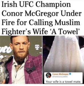 Flashback Friday to @thenotoriousmma #savage #true #maga #kag Ur wife a towel ma…
