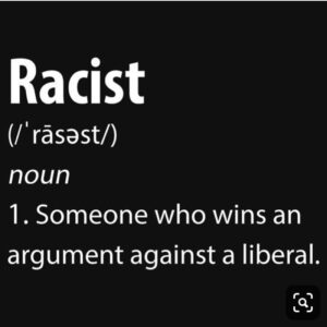 Read more about the article Racist : someone who stated facts that the left can't accept. Please follow and …