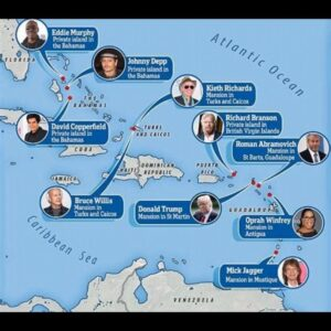 List Of Elites Private Islands In Bahamas: Oprah Winfrey, Eddie Murphy, Johnny Depp, Keith Richards, Richard Branson, Roman Abramovich, David Copperfield, Bruce Willis, Donald Trump, & Mick Jagger