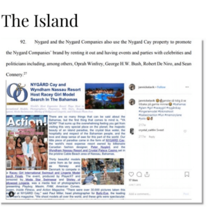 Peter Nygard, The Jeffrey Epstein Of Canada: Host Racey Girl Model Search In The Bahamas