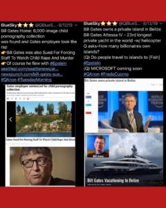 Pedophile Bill Gates Friend Of Jefferey Epstein Both Owned Child Porongraphy Collection – Watch What Happens Next – BIG THREaD
