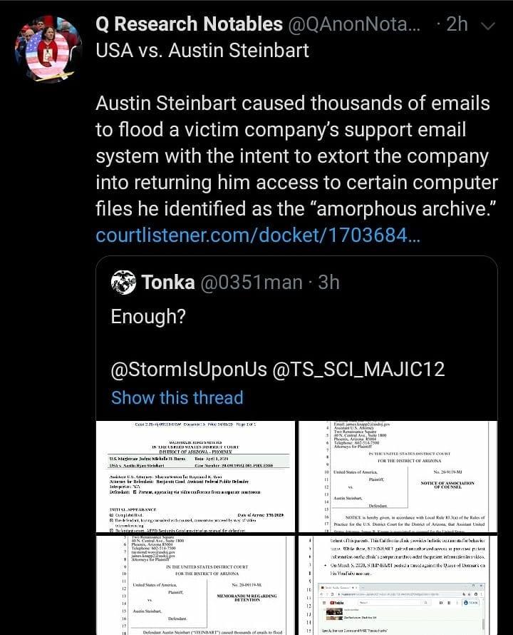 USA vs. Austin Steinbart