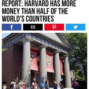 Harvard Has More Money Than Half Of The Worlds Countries