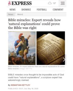 Bible Miracles: Experts Reveal How 'Natural Explanations' Could Prove The Bible Right