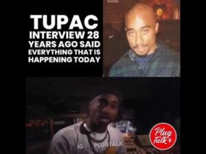 TUPAC INTERVIEW 28 YEARS AGO SAID EVERYTHING THAT IS HAPPENING TODAY