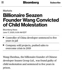 Billionaire Property Tycoon Convicted of Child Molestation