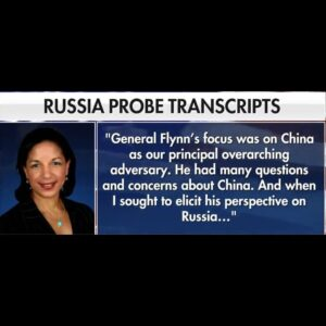 When Gen. Flynn described Russia as a declining power Susan Rice concluded that …