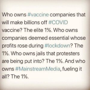 Who owns #vaccine companies that will make billions off #COVID vaccine? The elit…