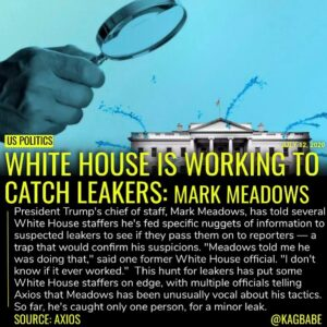 Trump is especially furious about two recent leaks of classified and sensitive i…