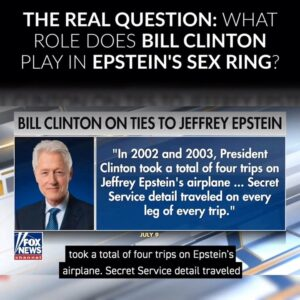 #BillClinton flew on the #LolitaExpress to #Epstein island but he did not have a…