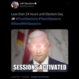 If I lived in Alabama I would be voting for @jeffsessionsal…