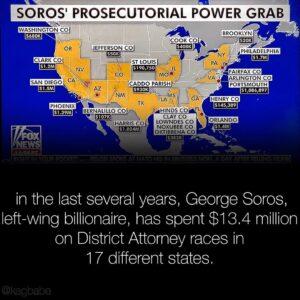 Tucker Carlson profiled George Soros' prosecutorial power grab.Carlson report…