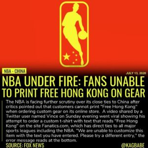 """Whatsup @NBA @Fanatics,"" Vince asked.Fox News was able to confirm on both Fan…"