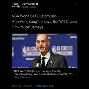 The NBA's store will let you design and purchase custom jerseys with user-create…