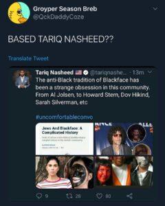 BASED TARIQ NASHEED?? Via @lickittyshitz_2 @evans_baked…