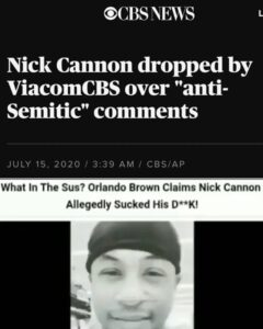 Reminders: Orlando on Nick Cannon and Will Smith…