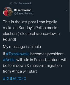 To our Polish frens  we are with you! #duda2020 #duda #poland #poland #patriotsf…