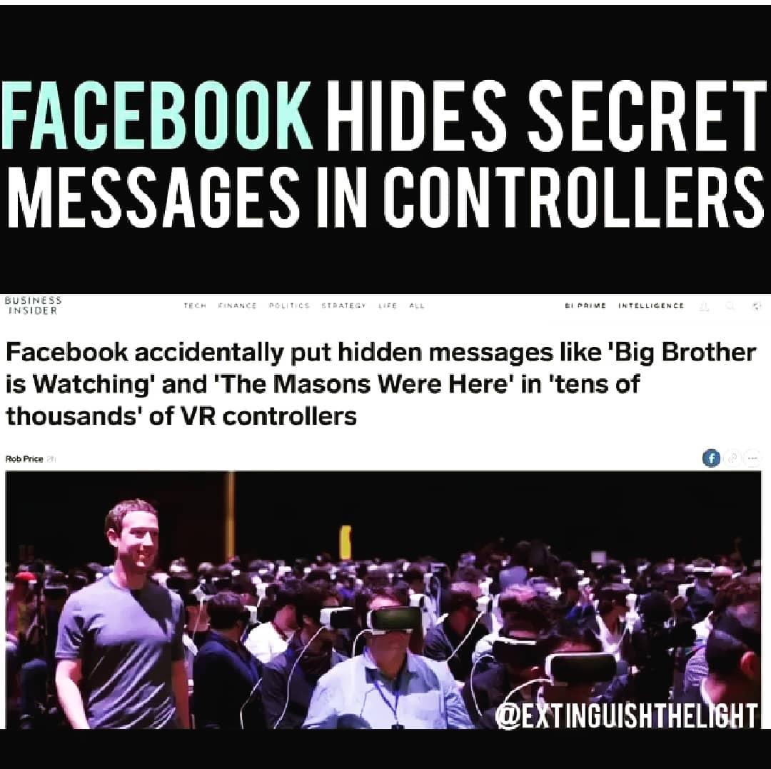 Facebook hides secret messages in controllers.#wwg1wga #qanon#maga #trump2020#…