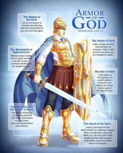 Read more about the article Learn the  It is a weapon God has given His people. The spiritual warfare is upo