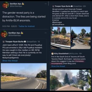 These fires are undoubtedly arson SWIPE