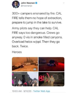 CA Fires 2020 Rescue Story