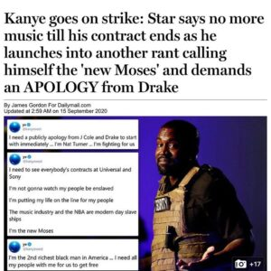 Love him or hate him, Kanye has continued making waves &keeps the attention on h