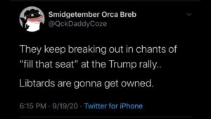 OH GOD OH FUGG WERE GONNA OWN THE LIBS!!