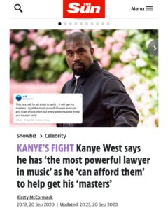 Read more about the article If you didn't know, Ye is going to war with the j*ws.  We will win.