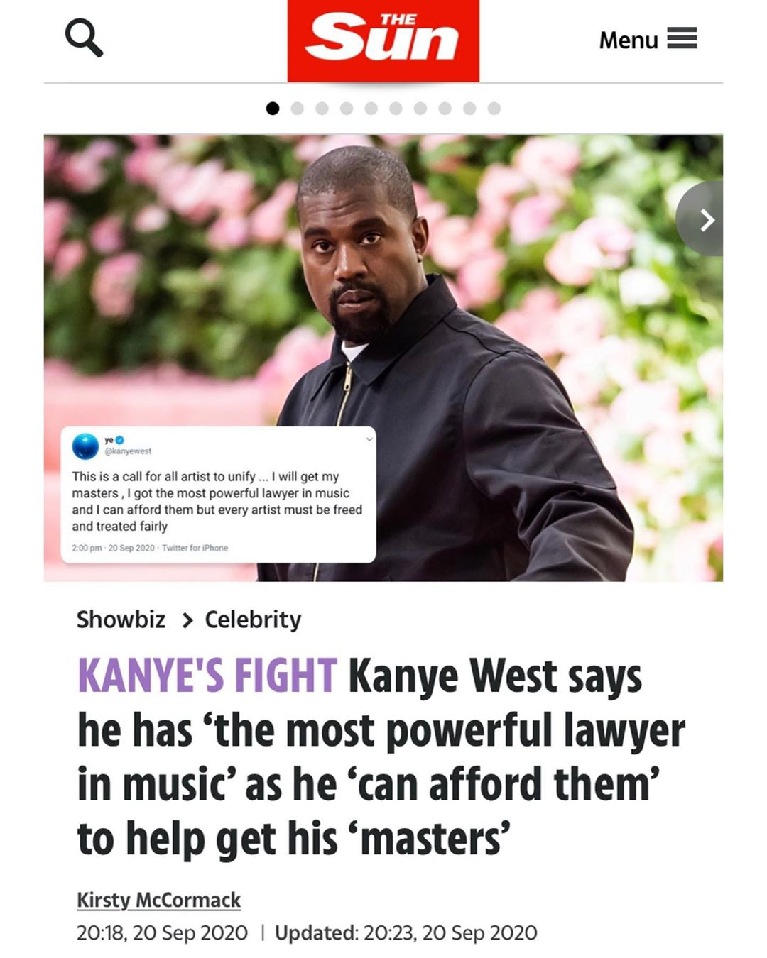 You are currently viewing If you didn't know, Ye is going to war with the j*ws.  We will win.