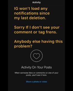 My notifications won't load at all… Anybody else having this problem?Follow