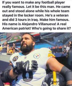 Let it be this man. Patriotic American hero!