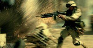 Tonight's movie selection Black Hawk Down
