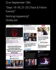 I'm not gonna say Q predicted this..  But Q predicted this.