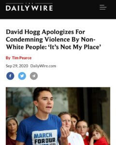 Violence from non-whites is fully acceptable to this commie. He apologizes for i