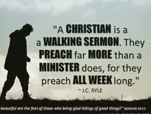 I love the  account.THE WALKING BIBLE.Biblically-literate? Christians Don't