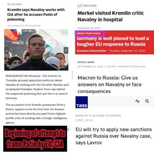 White hat back channels stage off coup/frame attempt on a Putin by CIA/EU with e